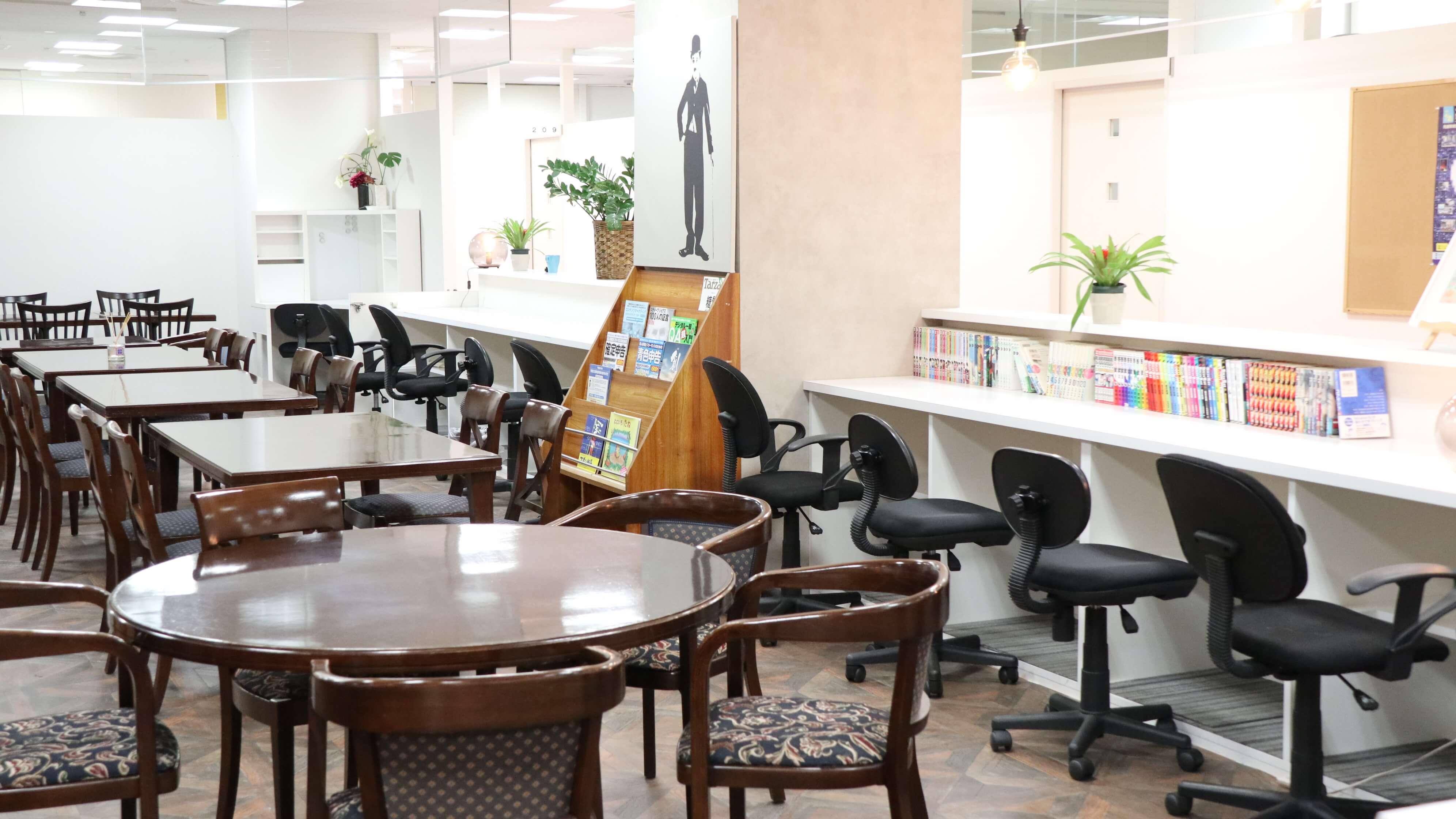 神戸・三宮のコワーキングスペース 室内6