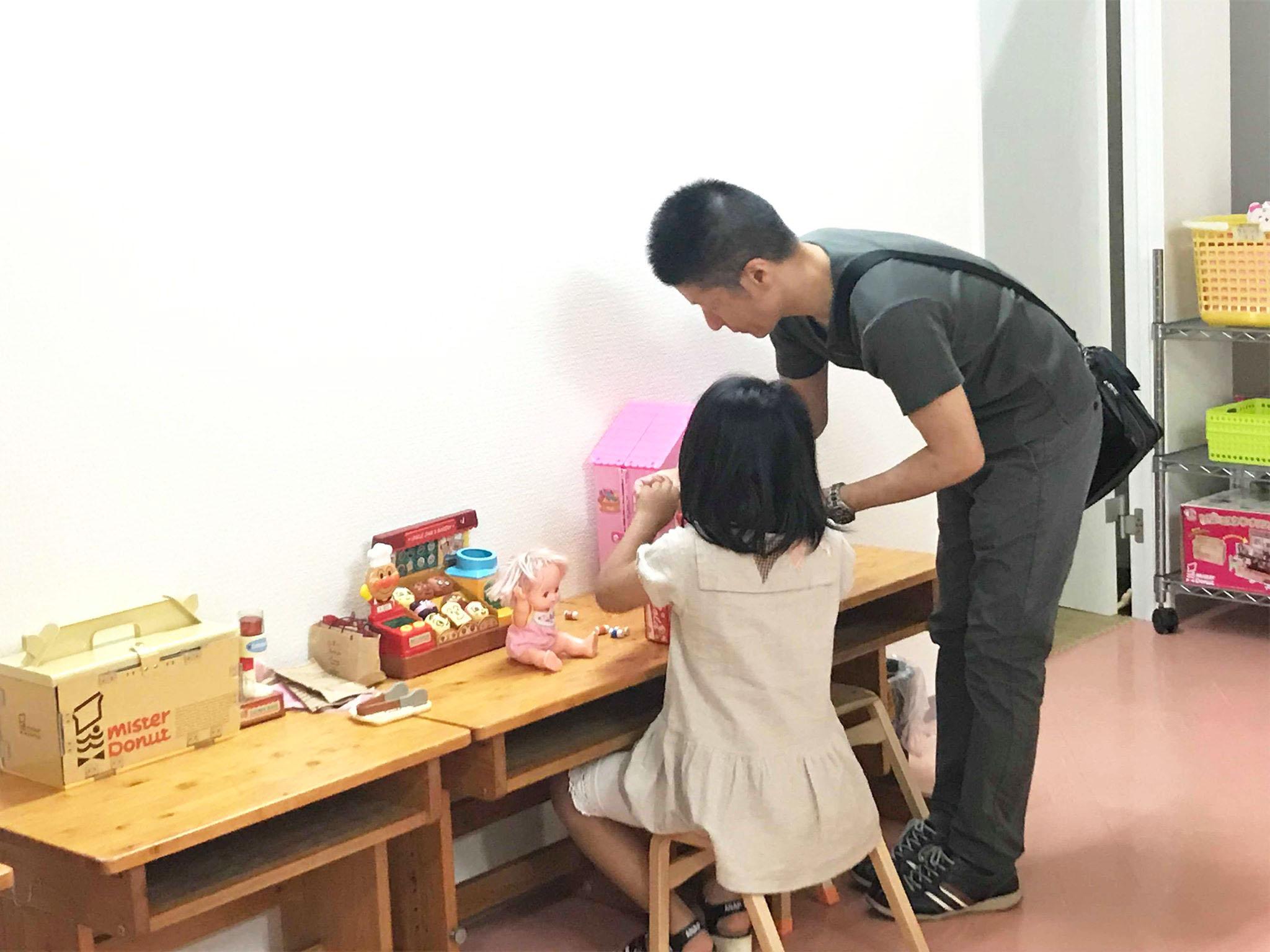 神戸・三宮の託児スペース 室内4