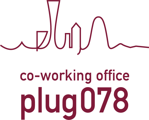 新神戸・神戸三宮のコワーキングスペース・<br> 貸し会議室・レンタルスペースのplug078のロゴ
