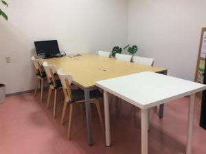 会議室213白机あり|新神戸・三宮の貸し会議室・レンタルスペース|打ち合わせに最適
