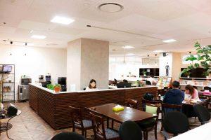 コワーキングスペースの受付|三宮神戸エリアのレンタルスペース会議室