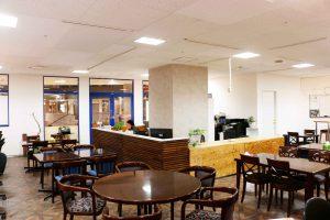 コワーキングスペースの右側受付|三宮神戸エリアのレンタルスペース会議室